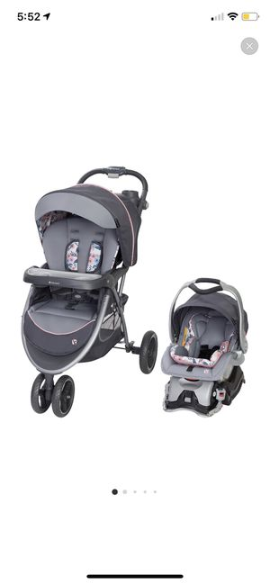 Girl Baby trend blue bell travel system for Sale in Norwalk, CA