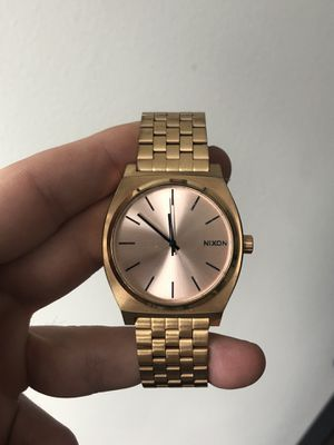 Nixon Gold Watch for Sale in St. Clair Shores, MI