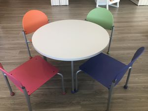 Bola designer kids table/chairs set for Sale in Cumberland, RI