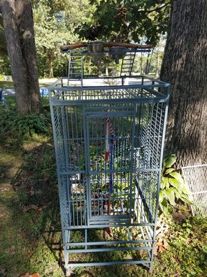 Large bird cage. for Sale in Staunton, IL