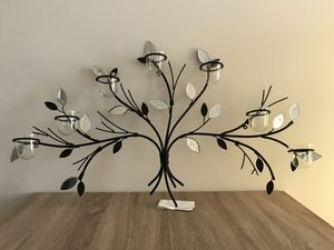 Decorative Iron Wall Candle Holder for Sale in Aventura, FL
