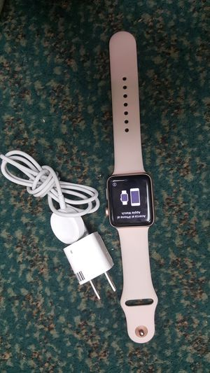 Apple series 3 smart watch 42mm gps for Sale in Baltimore, MD