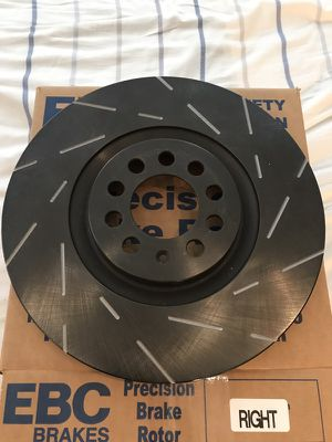 EBC Front Brake Disc Set (Left & Right) for Sale in Chicago, IL