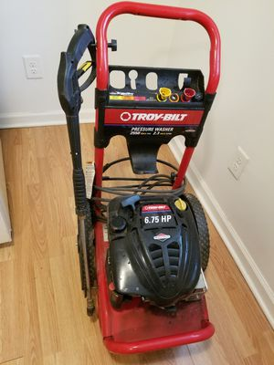 Troy Built pressure washer for Sale in Creedmoor, NC