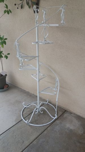beautiful antique 6 level plant stand , excellent condition for Sale in Rancho Cucamonga, CA