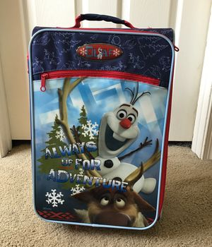 Disney Olaf suitcase for Sale in Horsham, PA