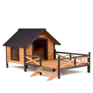 Small to Medium Dog Doghouse Yard House Deck Shelter Raised Porch for Sale in Chicago, IL