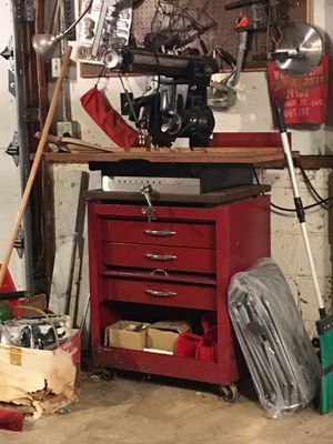 Craftsman Radial Arm Saw and locking cabinet for Sale for sale  Middletown, NJ