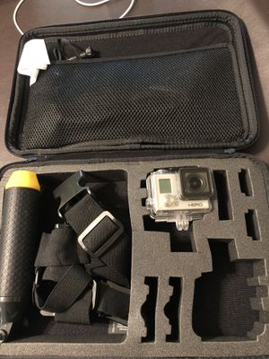 Gopro hero 3 with case and attachments for Sale in Deerfield Beach, FL