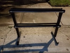 2-TIER DUMBBELL RACK for Sale in Chicago, IL