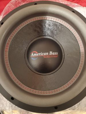 "American Bass HD 12"" subwoofer for Sale in Visalia, CA"