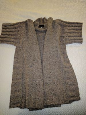 "Eskandar SOFT TAUPE Cashmere Monk Cowl Neck 35"" Long Poncho Sweater (1) $2495 for Sale in Alexandria, VA"