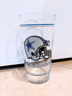 Vintage Dallas Cowboys Collectible Retro Glass Cup Vtg for Sale in Johnson City, TN