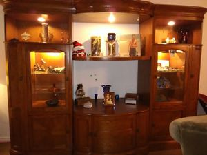 Entertainment display case for Sale in St. Louis, MO