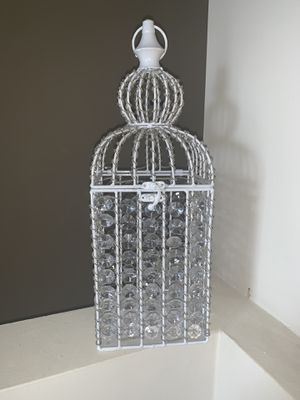 Home Decor - Decorative Jeweled Birdcage for Sale in Nashville, TN