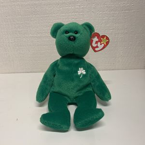 Ty Beanie Baby Erin the Bear 1997 Retired Rare With Tag and Errors Collectable for Sale in Mountain View, CA