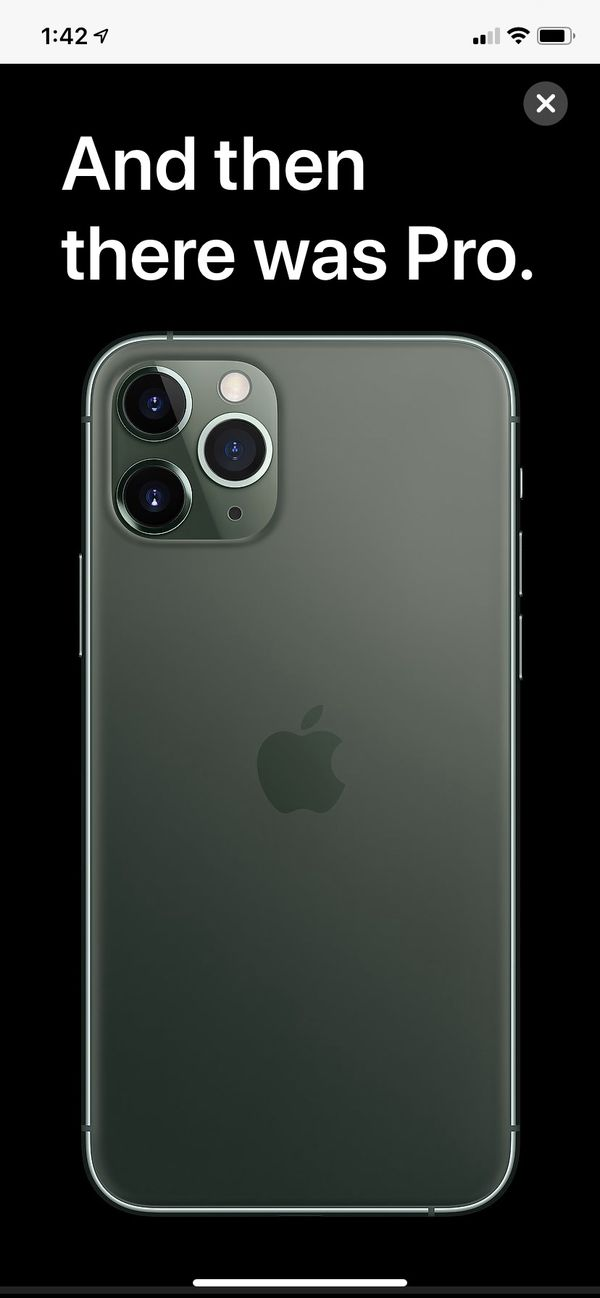 Brand new iPhone 11 Pro Max Space Gray 256G, unlocked