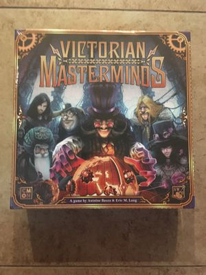 Victorian Masterminds board game for Sale in Phoenix, AZ