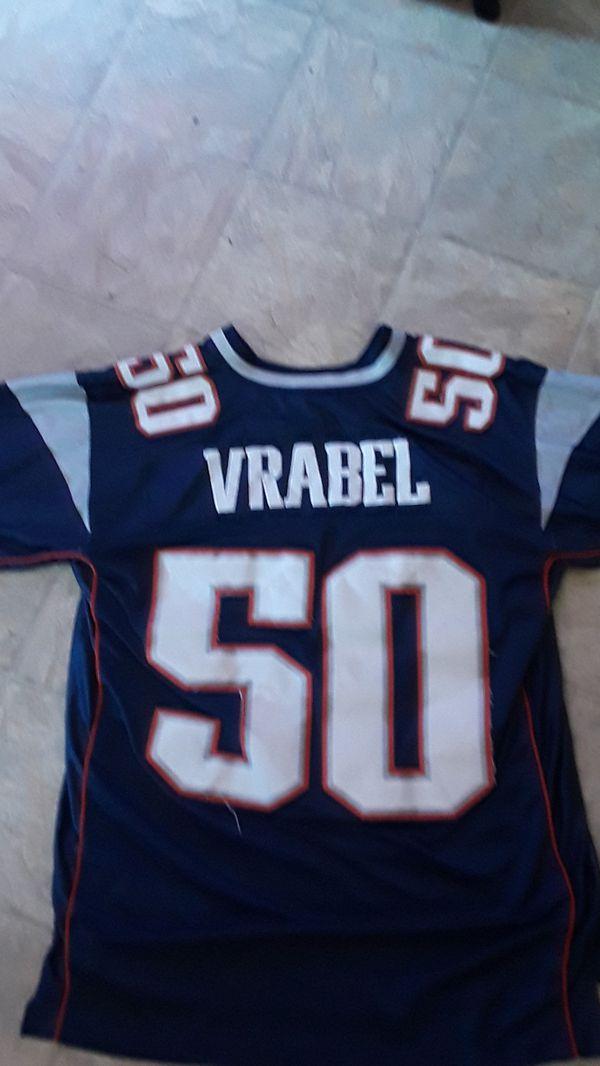 Vrabel Patriots Jersey