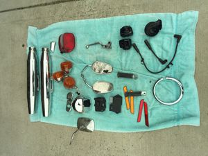 Motorcycle parts Dyna wide glide for Sale in Mokena, IL