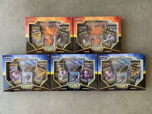Pokemon Hidden Fates GX Mystery Collection Boxes 5x for Sale in Fullerton, CA