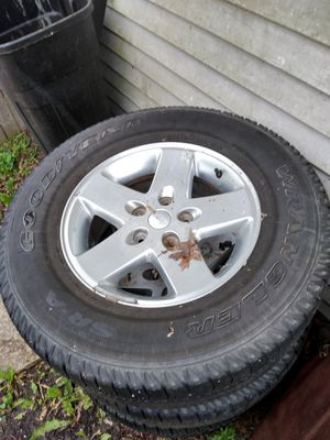 Rim n tire set for Sale in Oswego, IL