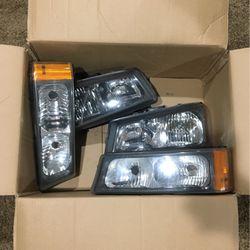 2004 Chevy Silverado Headlights Oem for Sale in Kirkland,  WA