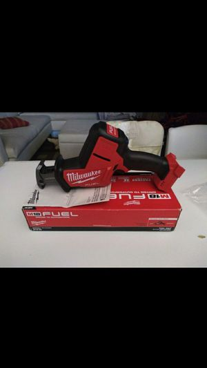 MILWAUKEE M18 FUEL BRUSHLESS. HACKZALL SAW . (TOOL-ONLY) NEW. NUEVO . for Sale in Tucker, GA