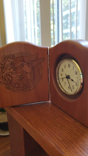 Vintage wooden table clock for Sale in Mission Viejo, CA