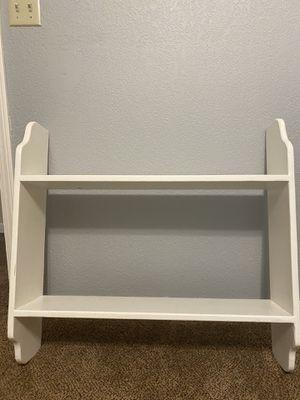 White shelf for Sale in Selma, CA