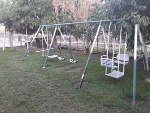 Kids swing set for Sale in Bloomington, CA