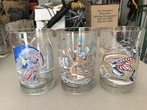 Disney collector glasses for Sale in Murfreesboro, TN