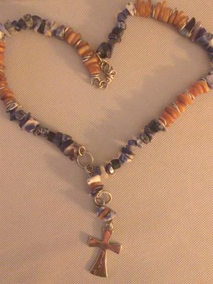 Beautiful necklace (natural stones) for Sale in Oakland Park, FL