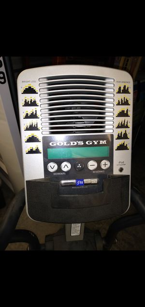 Gold's Gym Stride Trainer 410 Elliptical for Sale in Morgantown, WV