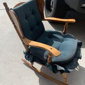 Vintage Wood Rocking Chair Furniture for Sale in Menifee, CA