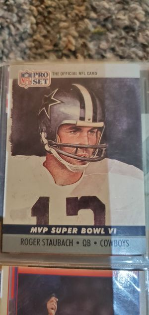 Roger Staubach Card for Sale in Emory, TX