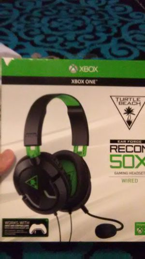 Turtle Beach Ear Force Recon 50 X Wired Headset for Sale in Lodi, CA