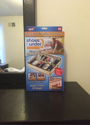 SPACE SAVING SHOE ORGANIZER for Sale in Baltimore, MD