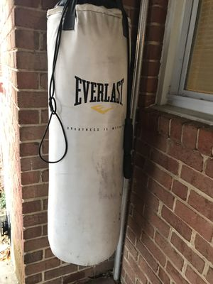 Punching bag for Sale in Hyattsville, MD