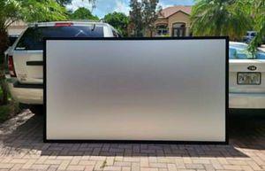"""Vutec SilverStar 110"""" Projection Screen for Sale in Merritt Island, FL"""