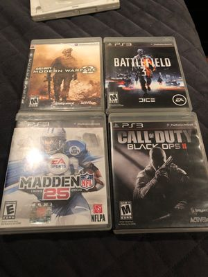 PS3 games for Sale in Tucson, AZ