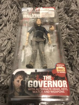 RARE The Governor walking dead action figure for Sale in Seattle, WA