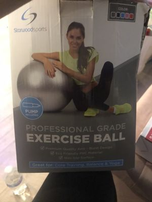 Exercise ball never used for Sale in Chicago, IL