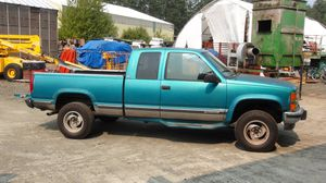1995 Teal Chevy Silverado Truck for Sale in Raymond, WA