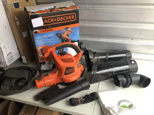 BLACK and DECKER BV6000 High Performance Leaf Blower/Vac/Mulcher for Sale in Las Vegas, NV