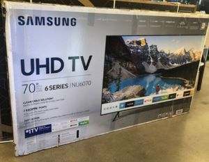 "70"" Samsung 4K UHD HDR SMART TV for Sale in Grand Terrace, CA"