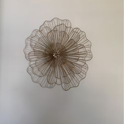 Gold And Gave Silver Also Flower Wall Hanging for Sale in Port St. Lucie,  FL