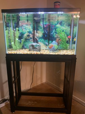 Aquarium with stand for Sale in Glendale, CA
