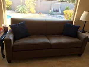 Couch - Queen sleeper sofa for Sale in Scottsdale, AZ