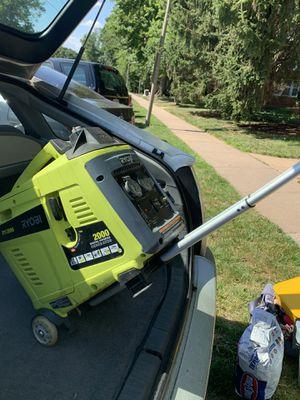 Ryobi, Ryi2000, generator for Sale in Great Falls, VA